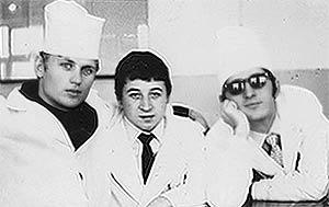 Sasha Salmayer, Marik Golubkov and Oleg Syedyshev