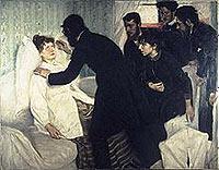 Hypnotic Seance, 1887, by Richard Bergh