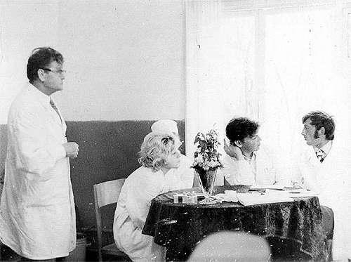 V.A.Gorshkov, bimbo, Peter and I