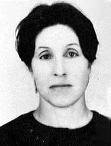 Department head V.I.Kobzeva