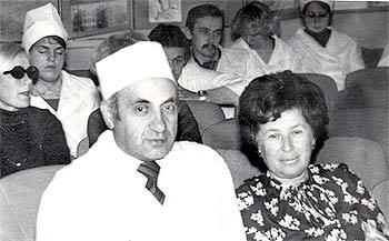 Associate professors F.S.Golubkova and A.N.Frumgarts
